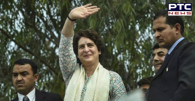 Priyanka Gandhi to hold a roadshow in Haryana today