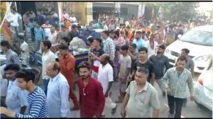 BJP candidate Sunny Deol Today Bhola constituency Road show