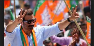 Sunny Deol favor Election campaign Arriving Bollywood star
