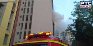 Thane Building catches fire, no casualties reported