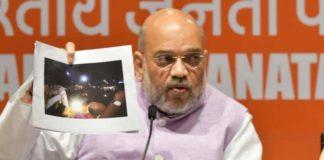 Amit Shah accuses TMC of inciting Kolkata violence, shows pics as proof