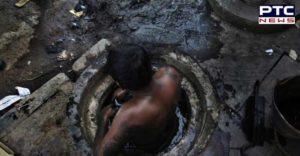Delhi Rohini area Cleaning the septic tank Two laborer Death