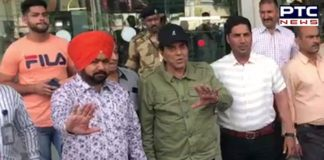 Sunny Deol favor Election campaign Amritsar airport Arrived father Dharmendra