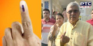 Lok Sabha elections 2019: pda candidate dr. dharamveer gandhi Vote At Patiala