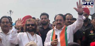 Amritsar: BJP candidate Hardeep Puri favor Election campaign Arrived Hans Raj Hans