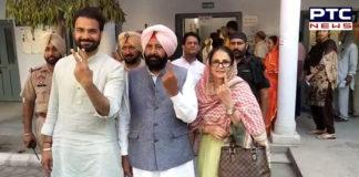 Lok Sabha elections 2019: Congress candidate from Sangrur Kewal Singh Dhillon barnala Vote