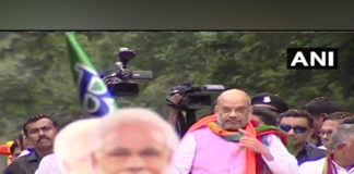 Amit Shah holds roadshow in Mamata's turf, clashes break out