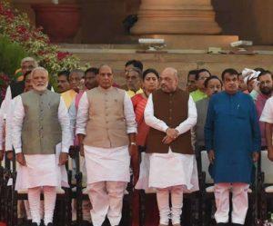 Harsimrat Badal, Som Parkash and Hardeep Singh Puri This ministry