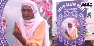 Punjab 100-100 year old elders Vote