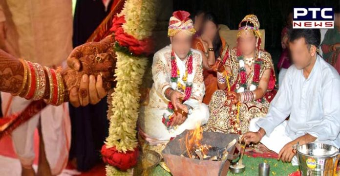 women wedding Two weeks after Come get married Pandit Run away