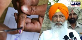 SAD Senior leader Sukhdev Singh Dhindsa Village Ubhawal Vote