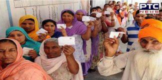 Lok Sabha elections 2019:Harbhajan Singh casts vote in Jalandhar