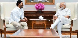 YSRCP chief Jaganmohan Reddy meets PM Modi