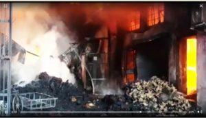 Ludhiana Noorwala road three garment factories fire no injuries reported