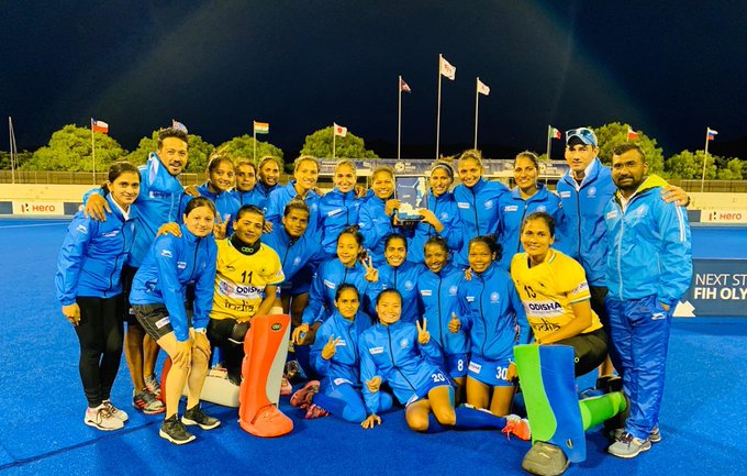 Hockey: Indian women win gold in their successful run for Olympic Qualifier