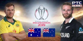 Australia vs New Zealand, ICC Cricket World Cup 2019