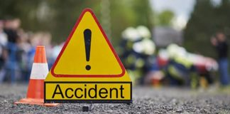 Uttar Pradesh Bus and truck Between Accident ,7 death