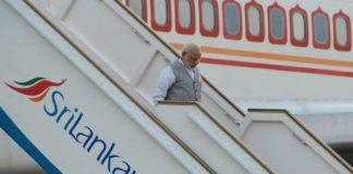 PM Modi reaches Sri Lanka