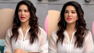 Sunny Leone last night on set Video viral