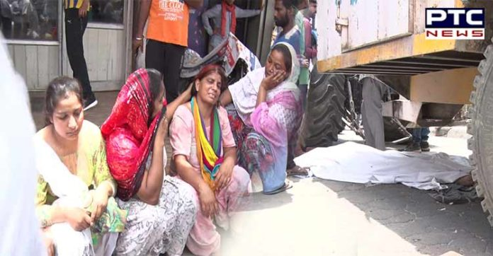 Amritsar Airport Road Accident , Child death , People Protest