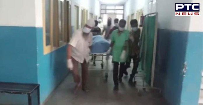 Phillaur : Civil hospital bathroom young man Found dead body