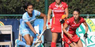 Indian Junior women's team beat Canada Jr. women team