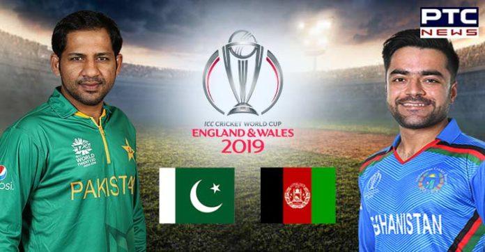 Pakistan vs Afghanistan, CWC19