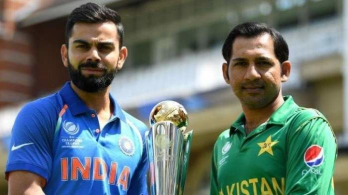 India vs Pakistan: India give a target of 337