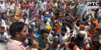 Sangrur : fatehveer singh Death After Laongowal Protest , closed to Sunam-Barnala Road