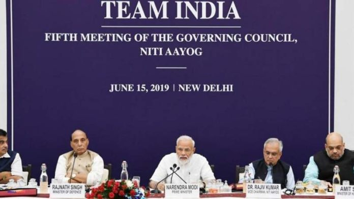 """Goal to make India a 5-trillion-dollar economy by 2024 """"challenging, but achievable"""": PM Modi at Niti Aayog meet"""