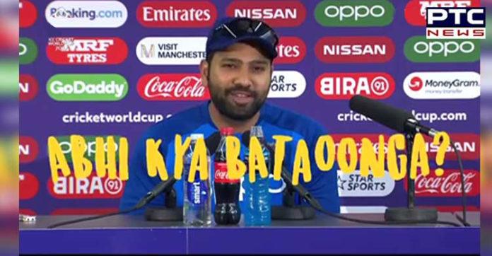 ICC Cricket World Cup 2019,Rohit Sharma ,Pakistan ,