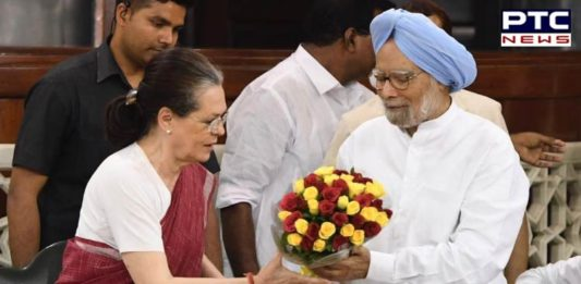 Sonia Gandhi has been elected as Chairperson of Congress Parliamentary Party