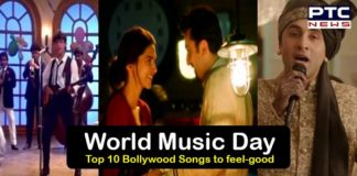 World Music Day 2019, Top Bollywood Songs
