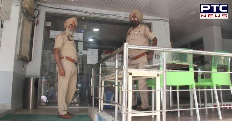 Jalandhar police travel agents offices raid