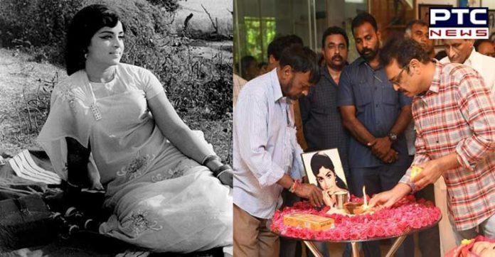 Tollywood actor-director Vijaya Nirmala passed away today in Hyderabad