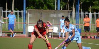 Indian Junior women hold Belaruswomen team to1-1 draw