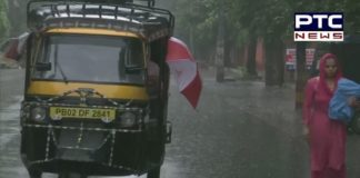 Punjab: Heavy rainfall lashes out in Amritsar, See Pictures