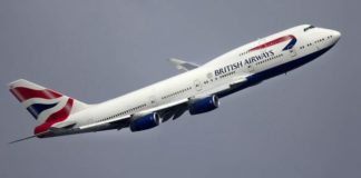 Three crew members of British Airways suspended after running naked in Singapore hotel