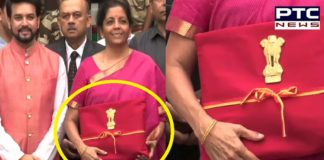 Budget 2019: Finance Minister Nirmala Sitharaman drops briefcase for 'Bahi Khata'