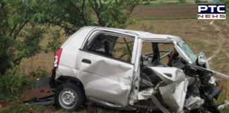 Five People including two couples killed in a road accident in Jalandhar