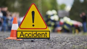 Sirsa - Dabwali National Highway Road Accident , 5 family members died