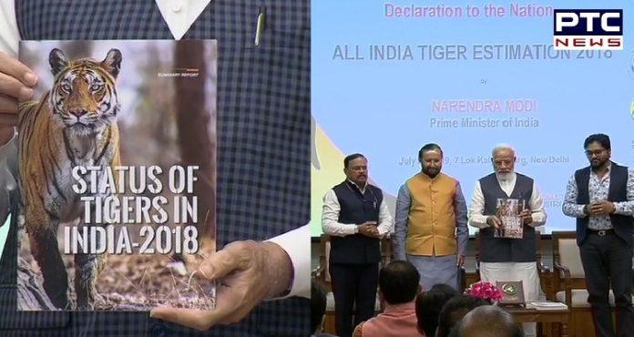 International Tiger Day: PM Narendra Modi releases All India Tiger Estimation 2018
