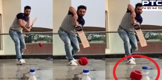 Yuvraj Singh Bottle Cap Challenge