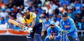 ICC World Cup 2019: Angelo Mathews century powers Sri Lanka to 264/7 against India