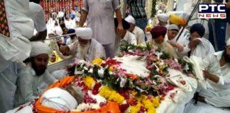 Baba Lai Singh Ji cremation: Thousands of people bid adieu to the Karseva at Kiratpur Sahib, watch video