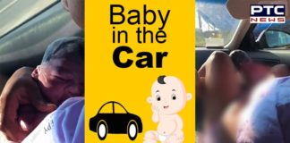 Woman give birth to a baby girl in the car, watch viral video