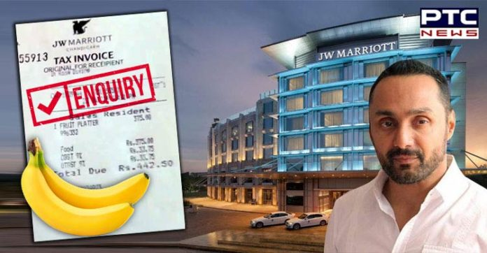 Rahul Bose Moment: Chandigarh Administration orders INQUIRY following Rs 442.5 bill for 2 bananas in 5-Star Hotel