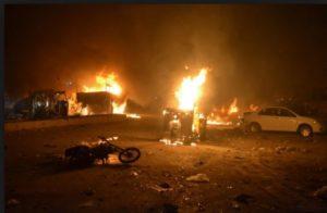 Pakistan Quetta city blast ,2 killed, 25 injured