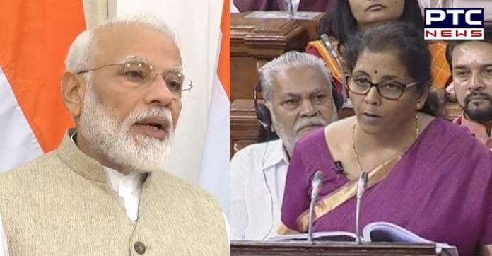 Budget 2019: PM Narendra Modi on the budget presented by Finance Minister Nirmala Sitharaman