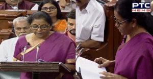 Budget 2019 : Farmers Will be created Energy donor : Nirmala Sitharaman
